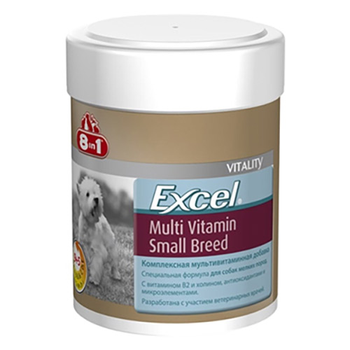 8 İn1 Exel Small Breed Multi Vitamin 70 Tablet
